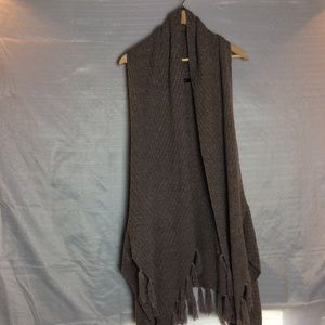 Janice Taupe vest duster